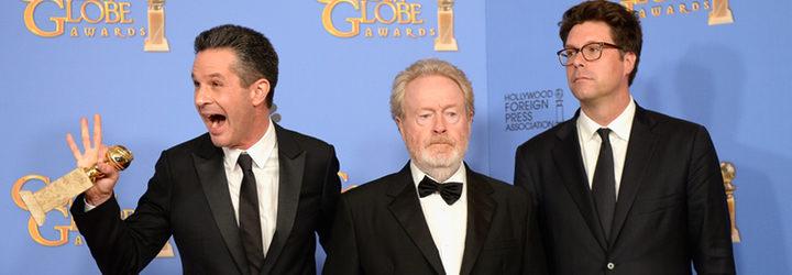 Ridley Scott con su Globo de Oro