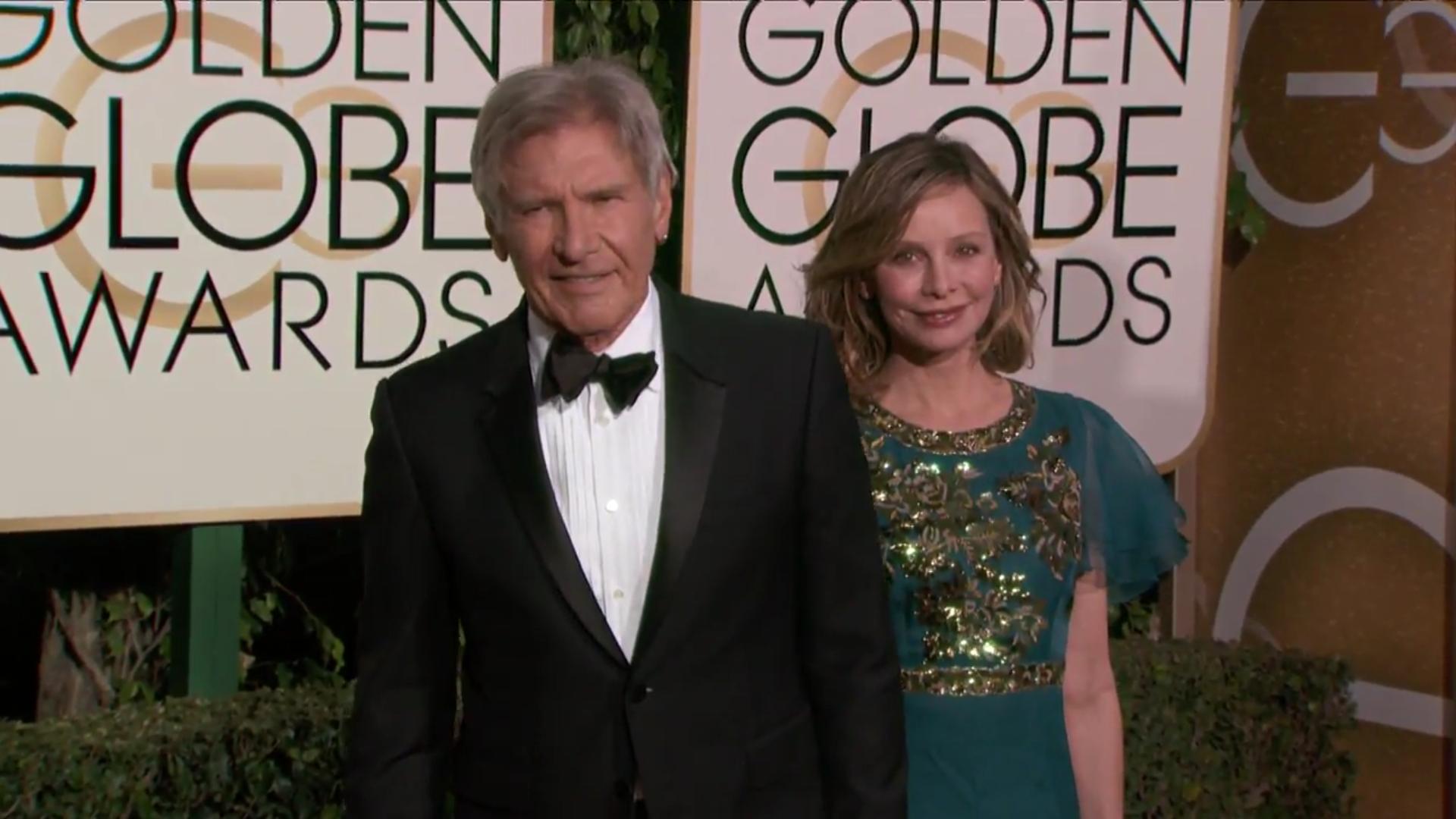 La pareja llega a los Globos de Oro