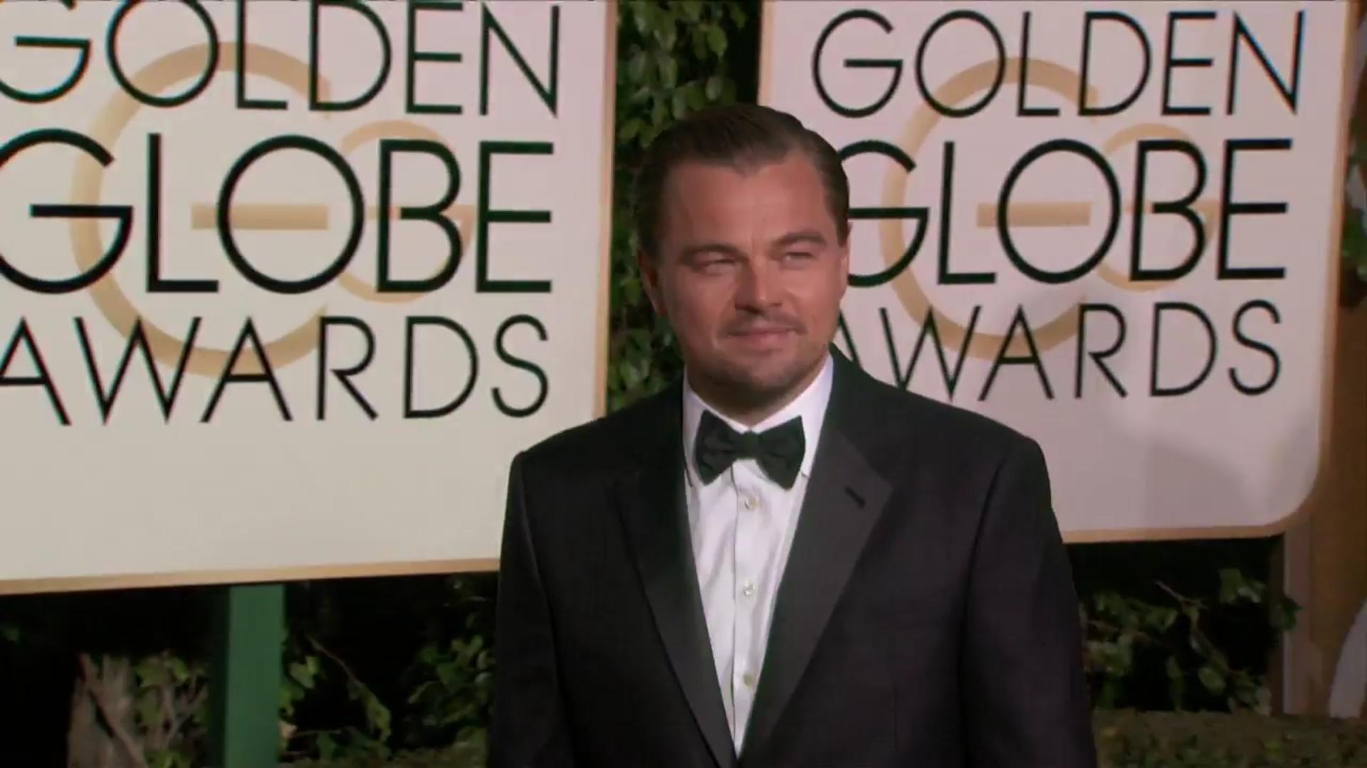 Elegante Leonardo DiCaprio en la alfombra roja