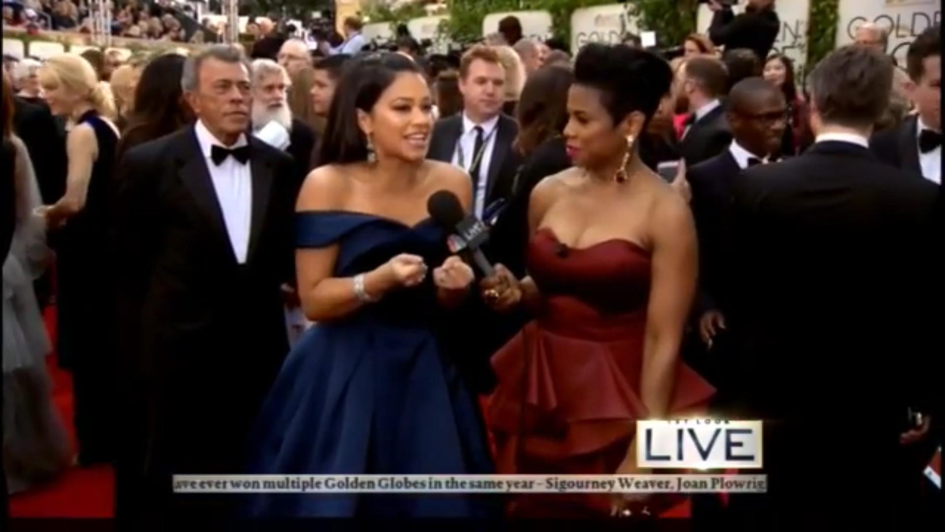 Gina Rodriguez llega a los Globos de Oro