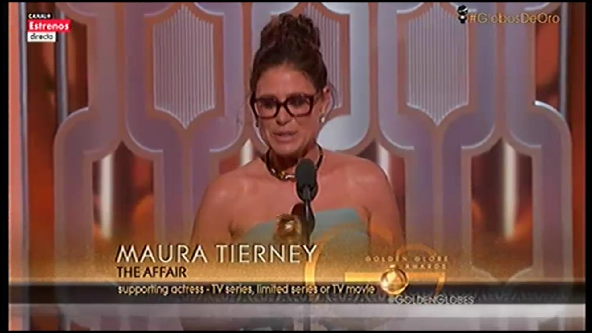 Maura Tierney, mejor actriz de reparto en televisión por 'The Affaire'