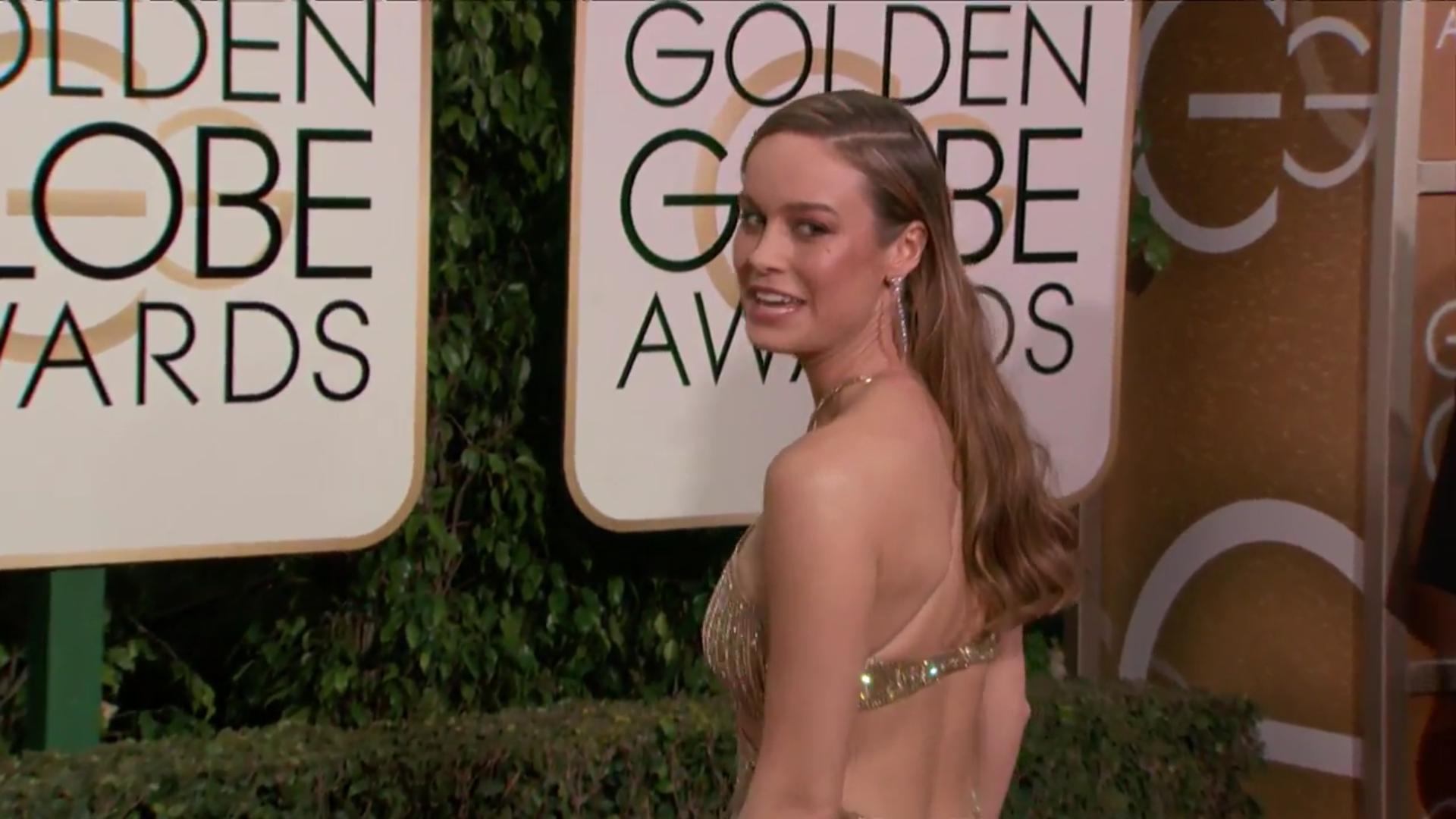 La actriz a su llegada a la gala