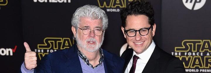 George Lucas y JJ Abrams