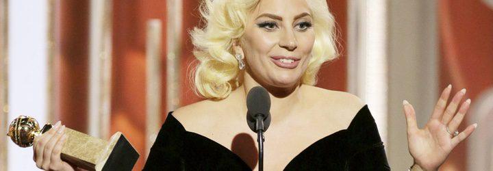 Lady Gaga Globos de Oro 2016