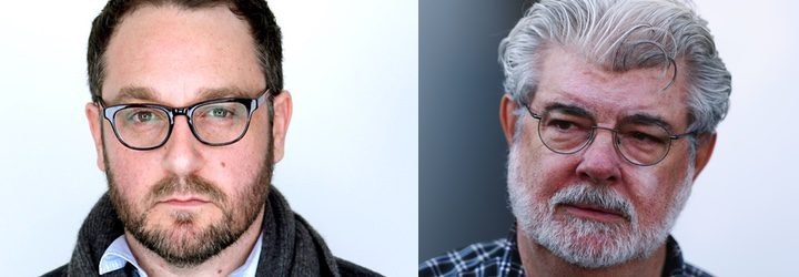 Colin Trevorrow y George Lucas