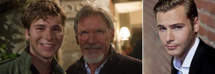 Anthony Ingruber y Harrison Ford
