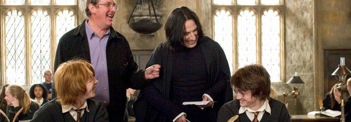 Rupert Grint, Alan Rickman y Daniel Radcliffe