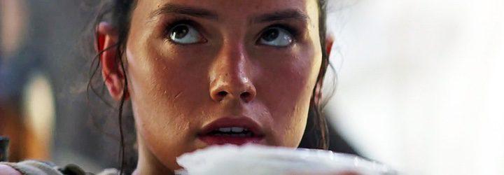 Daisy Ridley en 'El despertar de la fuerza'