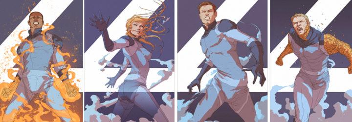 Ilustraciones de los personajes por separado