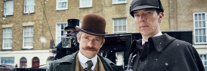 Benedict Cumberbatch y Martin Freeman son los dos grandes protagonistas de la serie