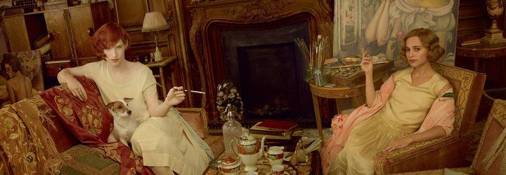 Vikander y Redmayne son los actores protagonistas de 'La chica danesa'