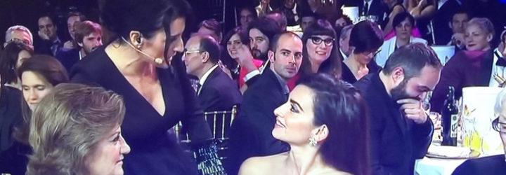 Silvia Abril y Penélope Cruz en los Premios Feroz
