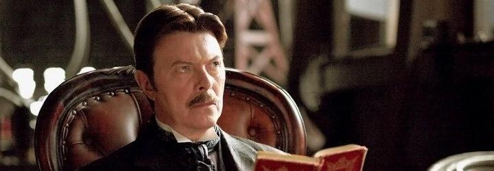 David Bowie en su papel de Nikola Tesla en 'El truco final'