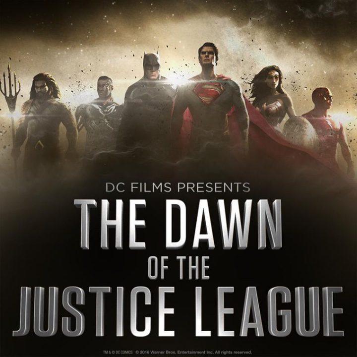 Concept art 'La Liga de la Justicia'