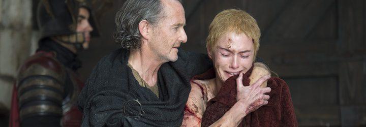 Cersei Lannister debe hacer frente al perturbador paseo de la penintencia en la quinta temporada