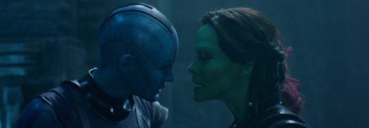 Nebula y Gamora