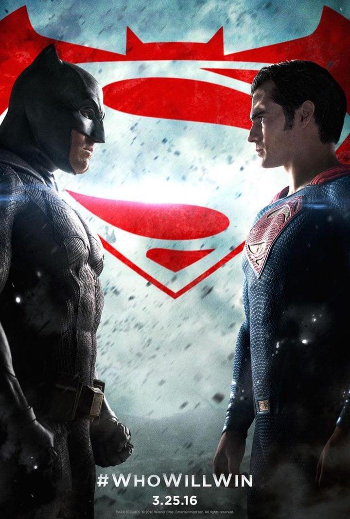 Póster 'Batman v Superman'