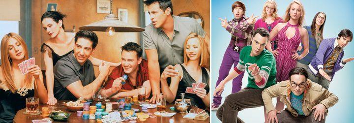 'Friends' y 'The Big Bang Theory'