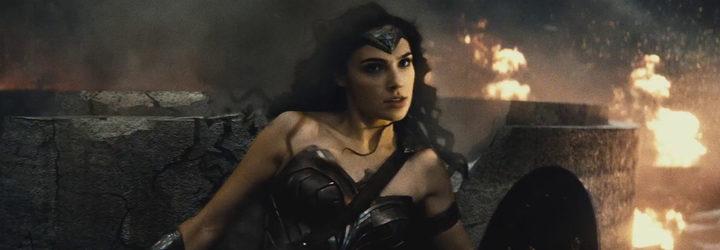 WonderWoman en un fotograma