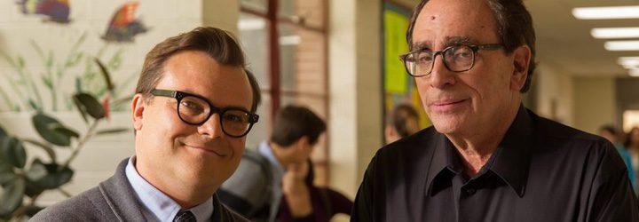 Jack Black y R.L. Stine en 'Pesadillas'