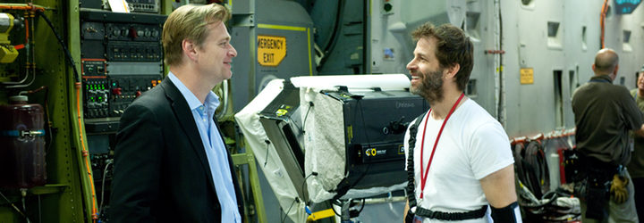 Christopher Nolan y Zack Snyder