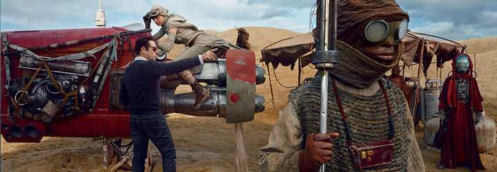 Rodaje de 'Star Wars: El despertar de la Fuerza'