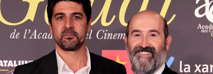 Javier Cámara y Cesc Gay en los Premis Gaudi 2016