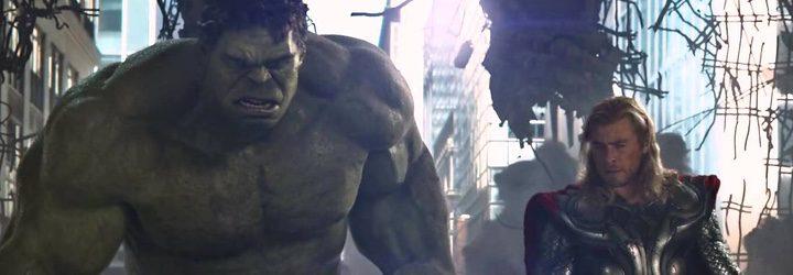 Hulk y Thor en 'Vengadores. La era de Ultrón
