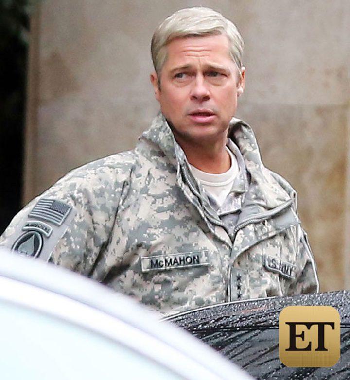 Una de las fotografías difundidas por ET respecto al rodaje de 'War Machine'