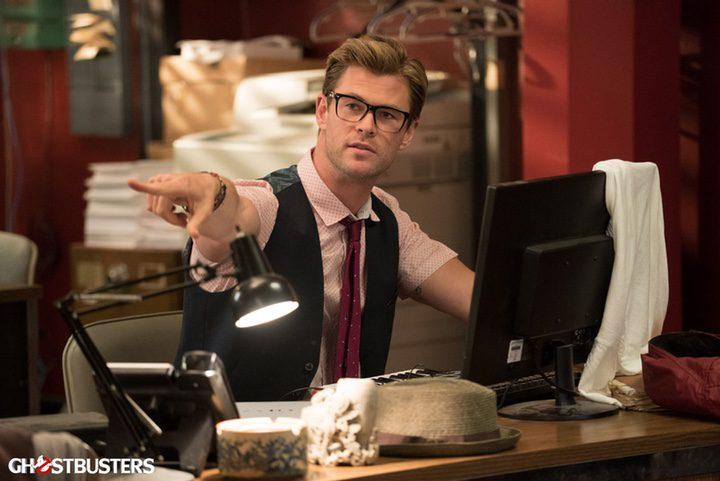 Chris Hemsworth en 'Cazafantasmas'