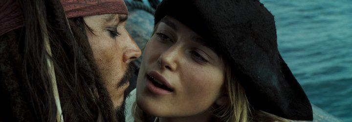 Depp y su compañera de reparto Keira Knightley