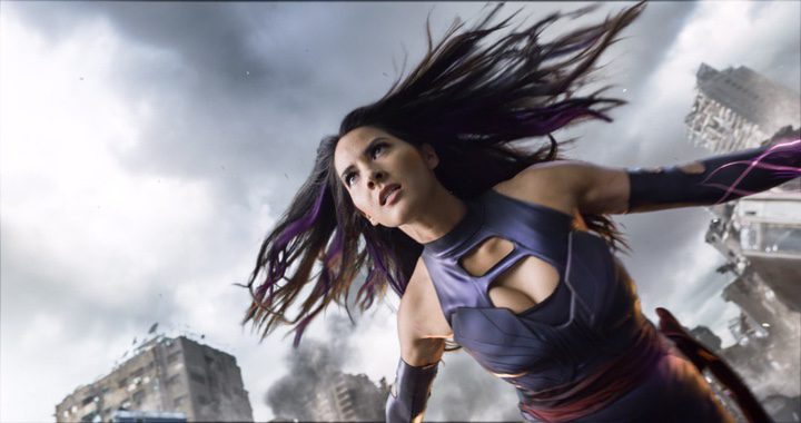 Olivia Munn como Psylocke en 'X-Men: Apocalipsis