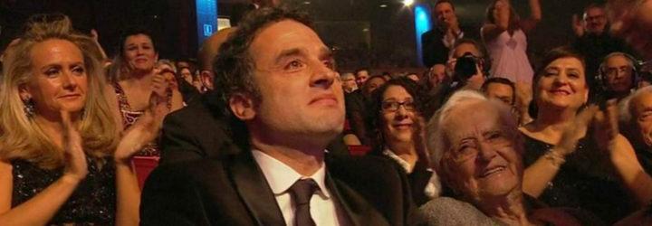 Daniel Guzmán en la gala de los Goya 2016