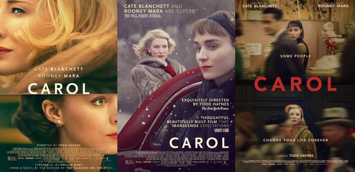 Posters de 'Carol'