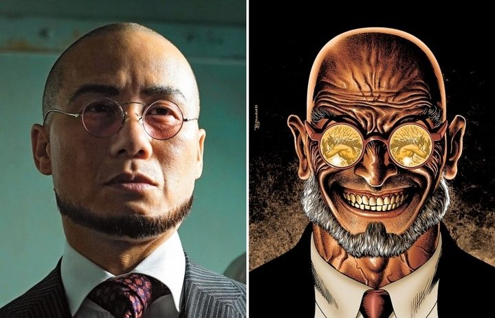 Primer vistazo al Doctor Strange de B.D. Wong en 'Gotham'