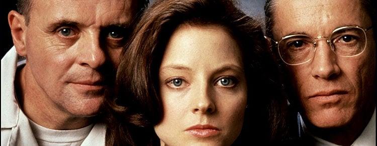 Anthony Hopkins, Jodie Foster y Scott Glenn en 'El silencio de los corderos'