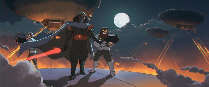 Darth Vader al estilo Ghibli