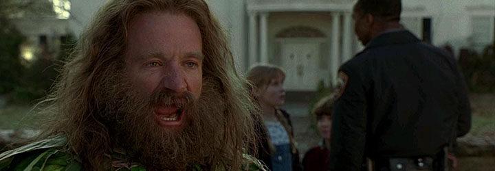 Robin Williams es Alan Parrish