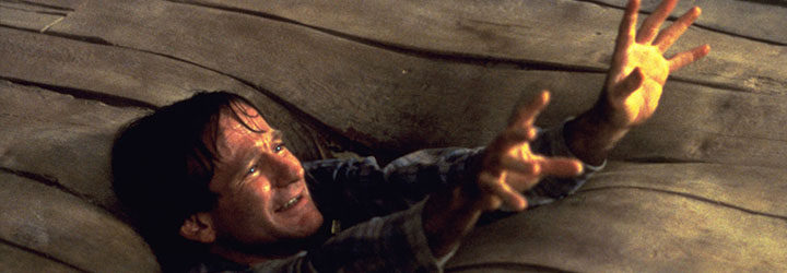 Robin Williams engullido por un suelo convertido en arenas movedizas