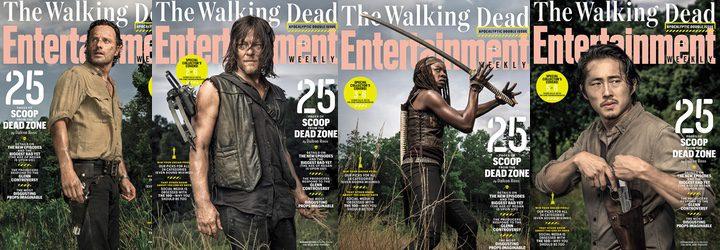 Portadas 'The Walking Dead' Weekly Entertainment