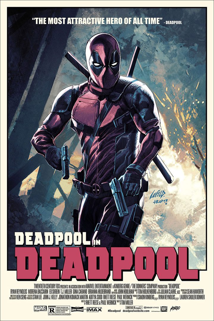 póster 'Deadpool' 2