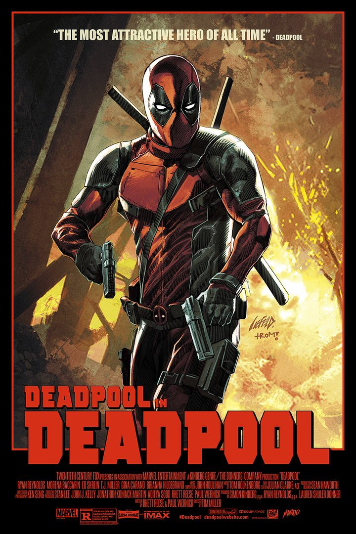 póster 'Deadpool'
