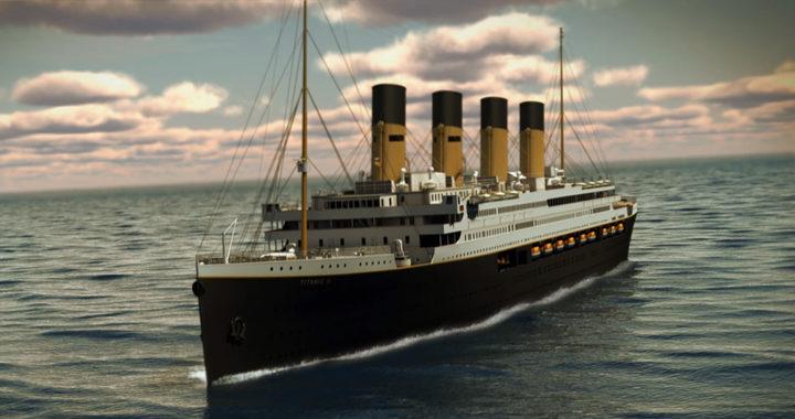 Boceto del Titanic 2