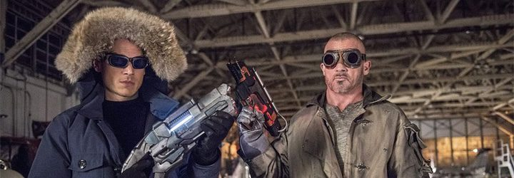 Wentworth Miller y Dominic Purcell en 'Legends of Tomorrow'