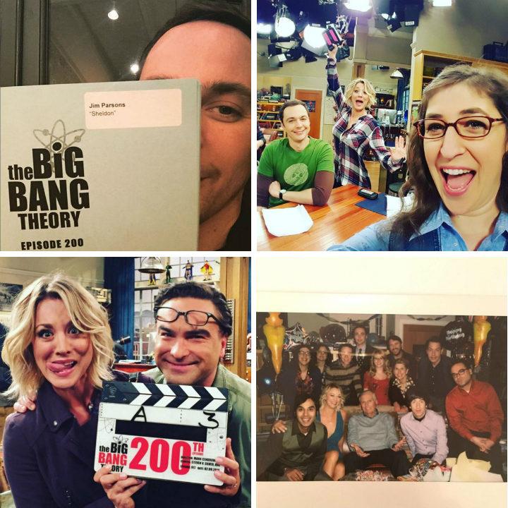 'The Big Bang Theory' celebran su capítulo 200
