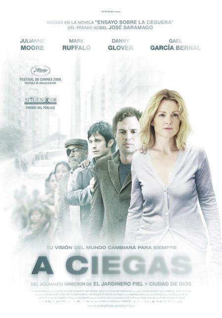 Cartel en castellano de 'A ciegas'