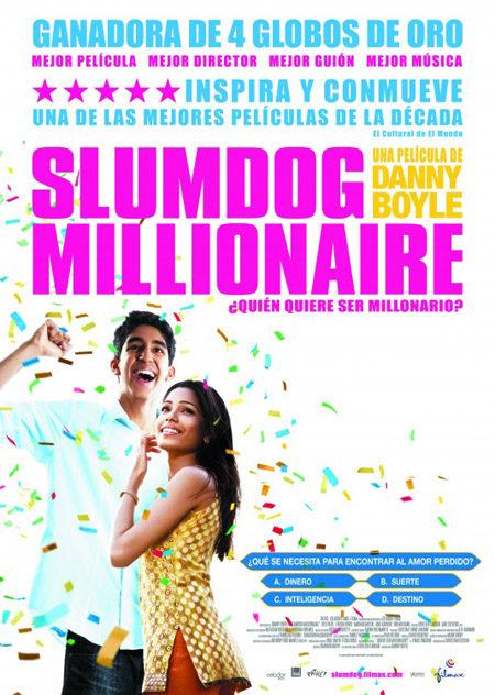Cartel en castellano para 'Slumdog Millionaire'
