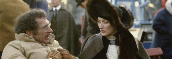 Pollack y Streep en 'Memorias de África'