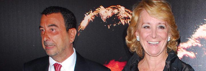 Esperanza Aguirre y José Luis Garci