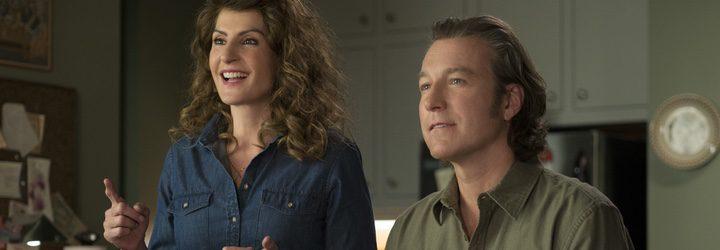 'Nia Vardalos' y 'John Corbett' en 'Mi gran boda griega 2'